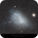 Small Magellanic Cloud and 47 Tucanae (NGC 104) in the Constellation Tucana,                                Paul Baker