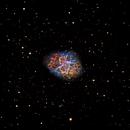 Crab Nebula - M1,                                dts350z