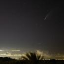 La comète C/2020 F3 NEOWISE et la Lune,                                BLANCHARD Jordan
