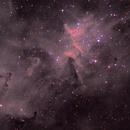 IC1805 Ha RGB,                                Станция Албирео