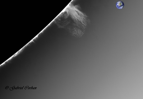 Another beautiful prominence on the SE side of the solar limb.,                                Gabriel - Uranus7