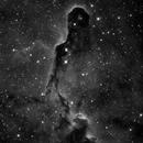 Elephant Trunk nebula (H-alpha),                                Andrew Gutierrez