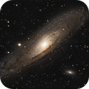 M31 Andromeda Galaxy 20201107 13020s 01.6.4,                                Allan Alaoui