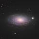 M 63 - The Sunflower Galaxy,                                James E.