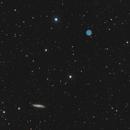 Owl Nebula and M108,                                Tom Carrico