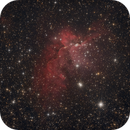 NGC 7380 in Cepheus,                                Nurinniska