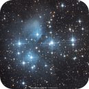 M45 - The Pleiades Star Cluster,                                Wellerson Lopes