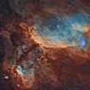 Prawn Nebula - IC4628 - Excellent seeing conditions,                                Juan Filas