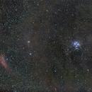 Pleiades Widefield - 50mm,                                Eric Walden