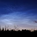 Noctilucent clouds over Belgium,                                Dominique Callant
