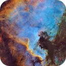 The North America and Pelican Nebulae Mosaic,                                Connor Matherne