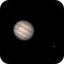 Jupiter with his moon Io,                                Alessandro Iannacci
