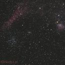 M 38; NGC 1907; NGC 1931; IC 417,                                Lukasz Franica