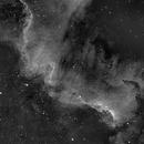NGC  7000  en HA ,                                joperenclo