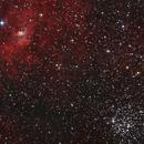 NGC7635 + M52,                                jamesastro