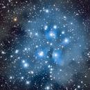 Pleiades M45,                                AstroHannes68