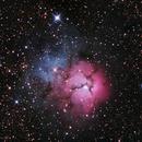 M20 The Trifid Nebula,                                Marc Silva