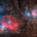 Orion belt/sword collage,                                Giovanni Paglioli
