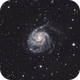 HaLRGB Pinwheel Galaxy (M101),                                Temu Nana