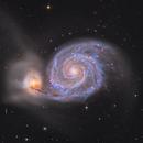 M51-Whirlpool Galaxie,                                Rochus Hess