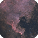 North America Nebula NGC 7000 Ha+OSC RASA8,                                Brandon Tackett