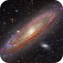 M31 - The Great Andromeda Galaxy - HII Area Enhanced,                                ItalianJobs