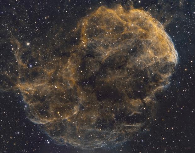 IC443 Jellyfish nebula HSO,                                MassimoTuninetti