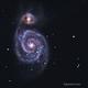 M51 with Asi178 olor,                                John