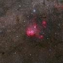 IC 2944, the running chicken,                                Wei-Hao Wang