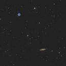M108 and M97 under full Moon,                                Simas Šatkauskas
