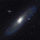 M31 Composite,                                Kris Inman