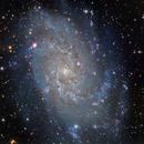 Messier 33,                                Bill Clugston