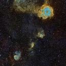Mosaic of the Rossetta Nebula Region (SHO),                                sergio.diaz