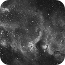 IC 1848 (Open Cluster + Soul Nebula),                                Tullio Di Primio