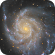The Pinwheel Galaxy,                                Bret Waddington