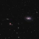 The Galaxy Trio NGC 4725, NGC 4747 and NGC 4712,                                Frank Rogin