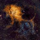 Sh2-132: Lion Nebula in SHO,                                Elvie1