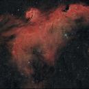 IC 2177 Seagull nebula,                                lukfer