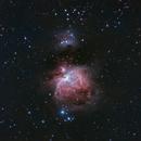 M42 Orion Nebula in HaRGB,                                Sergey Kholmanskikh