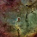 Elephant Trunk Nebula (IC1396) HST colour palette,                                Jose Carballada