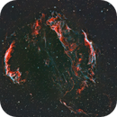 Cygnus Loop: The Veil Complex Bi-Colour HOO,                                Doug Griffith