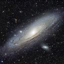 M31 - The Andromeda Galaxy,                                Oscar Echeverri