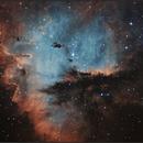 Pacman (Ha - OIII),                                sky-watcher (johny)