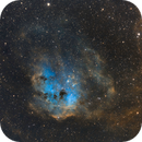 Tadpoles Nebula in SHO,                                John Kroon