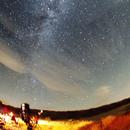 Milky Way over Lake San Antonio, CA,                                dts350z