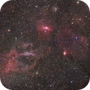 NGC 7635 Widefield,                                Fan