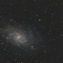 M33 Triangulum Galaxy,                                diurnal