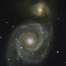 M51 Whirlpool Galaxy,                                Mike