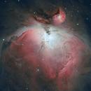 Messier 42 - Great Orion Nebula,                                Hartmuth Kintzel