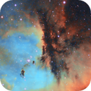 Pacman Feature NGC281,                                Carastro